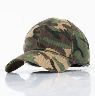 Gorra curva camo
