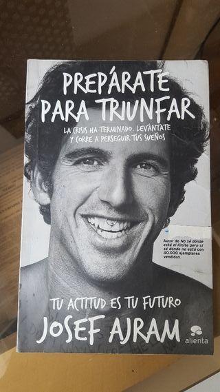 "Libro ""Prepárate para triunfar"" Josef Ajram"
