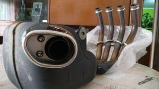 Tubo escape Yamaha Xj6 original