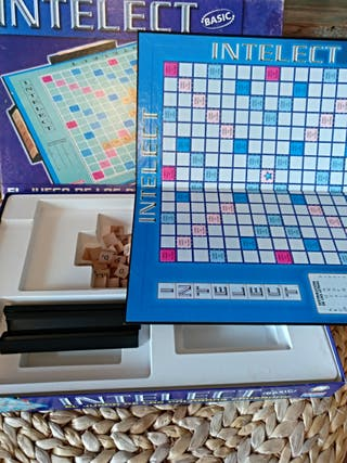 juego mesa scrable intelec
