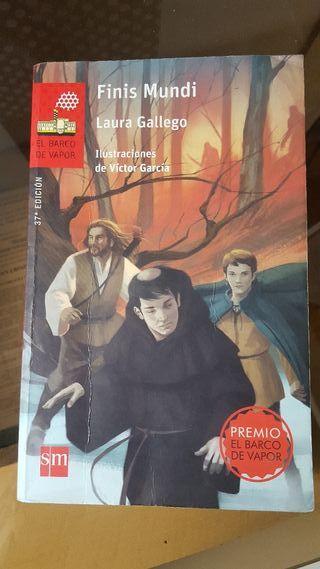 """Libro """"Finis Mundi"""" de El Barco de Vapor"""