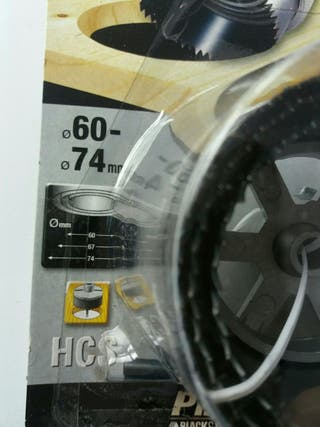 Piranha HCS, Black & Decker, - 3 sierras