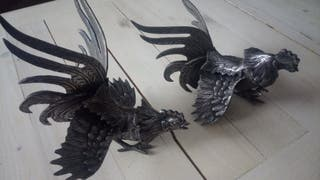 "Figura decoración ""Gallo"""