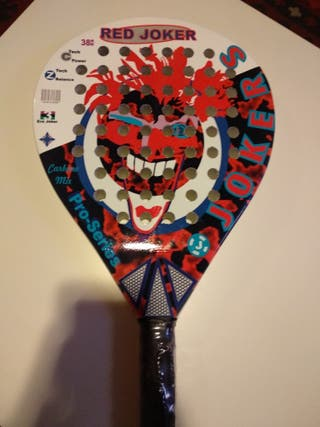 Vendo pala de pádel Jokers Red
