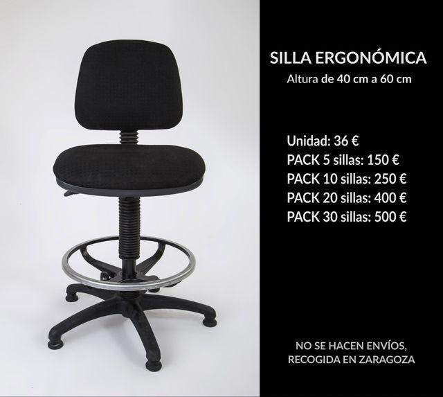 Sillas De Oficina de segunda mano por 36 € en Zaragoza - wallapop