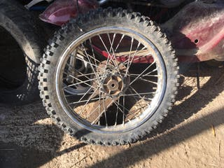 "Rueda delantera pit bike 15"""