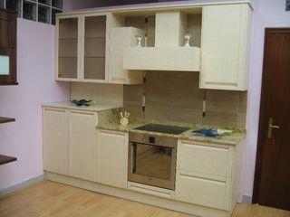cocinas madera de exposicion