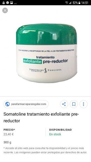 Somatoline tratamiento exfoliante pre-reductor