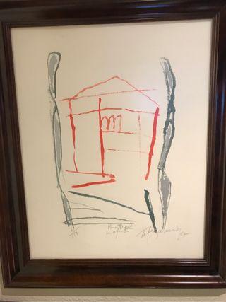 Litografia Rafols Casamada