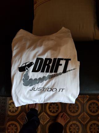 camiseta Just Drift A ESTRENAR