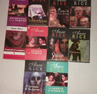 Libros Bolsillo Anne Rice
