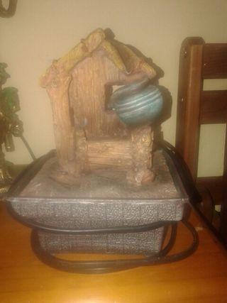 Fuente de decoracion