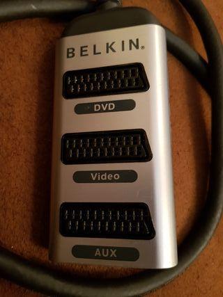 BELKIN EUROCONECTOR PURE AV 3-en-1