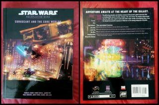 """Juego de Rol """"Coruscant and the Core Worlds"""" SW"""
