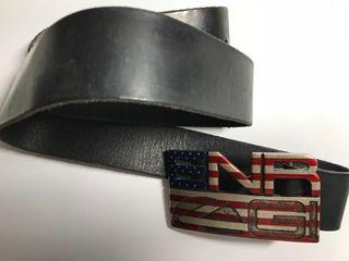 Cinturón Energie negro bandera Estados Unidos