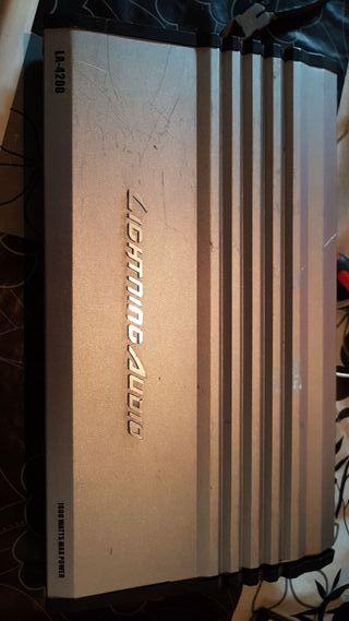 amplificador lightning audio