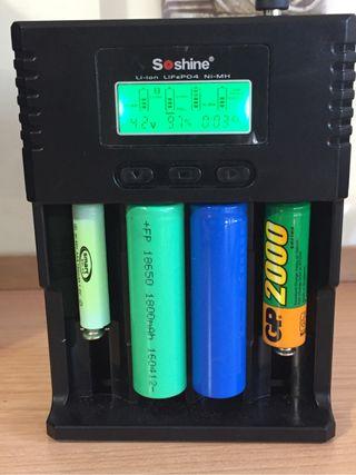 Cargador inteligente baterias
