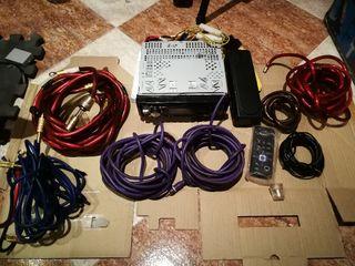Cableado equipos de sonido de coche, radio clarión