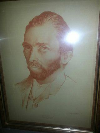cuadro retrato de vangoh