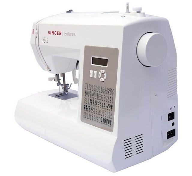 Máquina de coser SINGER brillance 6180 de segunda mano por