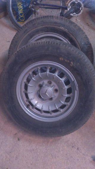 "llantas Mercedes clásicos 14"""