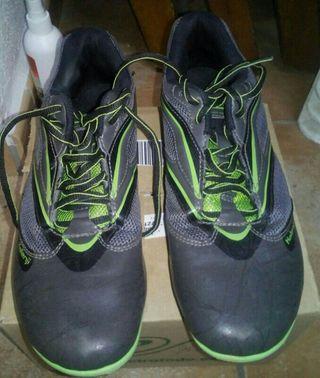 zapatillas de tacos pista