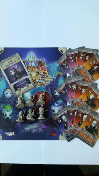 ARCADIA QUEST PROMOS THE NAMELESS CAMPAING