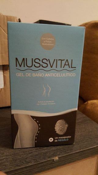 mussvital gel de baño anticelulitico