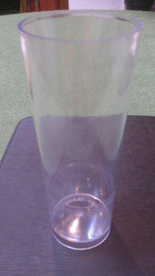 1000 vasos tubo super fuertes, plástico reforzado