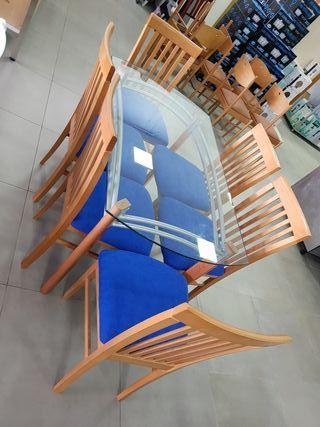 Mesas y sillas de segunda mano por 200 en castello for Wallapop mesas