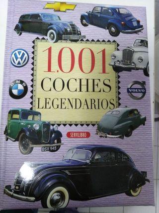 libro 1001 coches legendarios