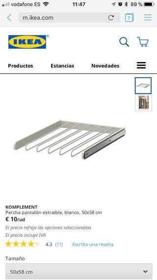 Pantalonero Ikea