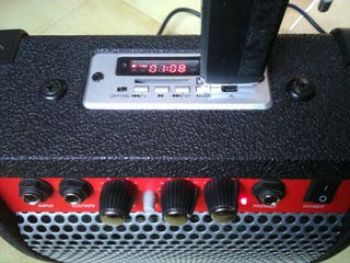 Ampli Guitarra con Reproductor Mp3