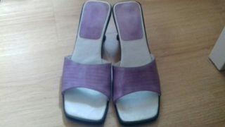 Sandalias 39 en color lila