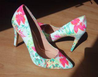 Zapatos estampado de flores Nº37