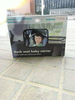 Espejo retrovisor bebe