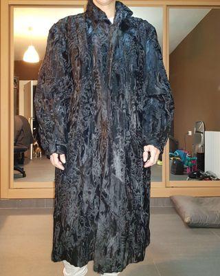 Abrigo piel astracan