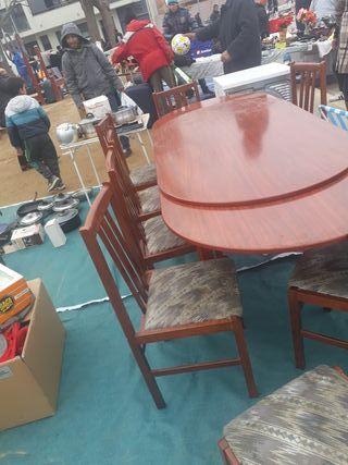 Mesa comedor+8 sillas
