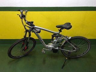 Bicicleta eléctrica de montaña Flyer. Año 2014.