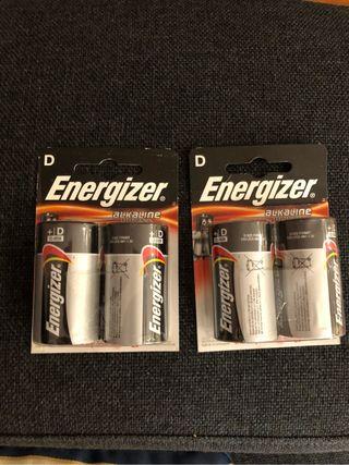 D Energizer alcaline power