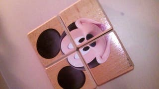 puzzle disney madera