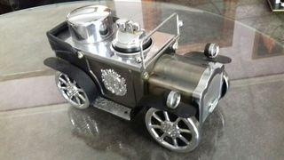 Adorno coche tabaco + encendedor