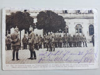 Correo de campaña Aleman IWW 1916 Prusia