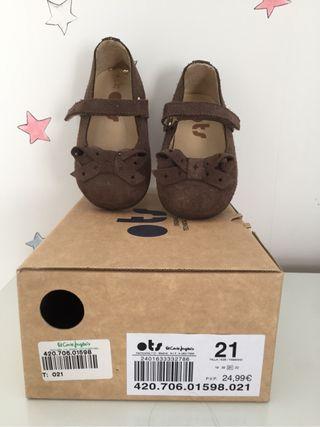 Zapatos niña numero 21