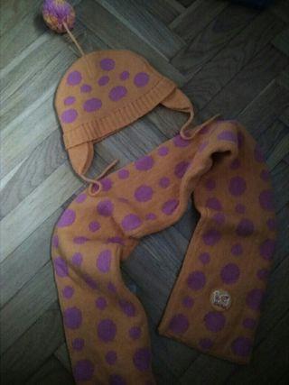 bufanda y gorro niño NUEVO TALLA gorro 46