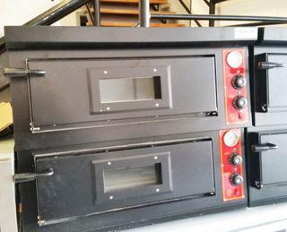 horno de pizza electrico gas y tunel