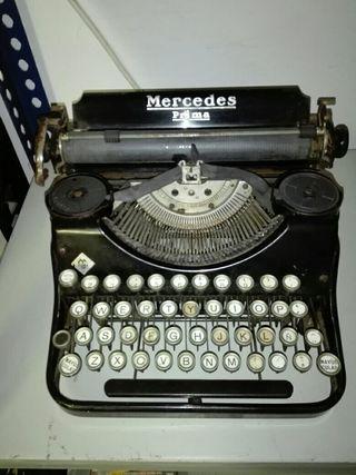 maquina de escritura,marca mercedes