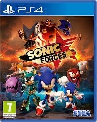 juego sonic forces ps4