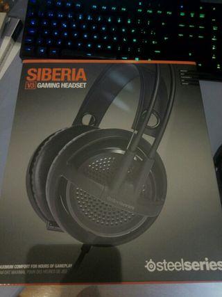 Auriculares Steelseries Siberia V3 segunda mano  España