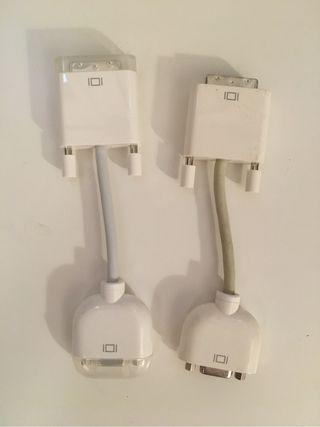 2 cables Apple DVi - VGA